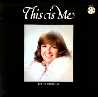 Diane Cousins ‎- This Is Me (LP) (Signed) (EX/VG-)